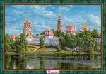 """Алмазная мозаика """"Новодевичий монастырь"""""""
