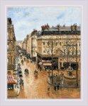 """Набор для вышивания """"Улица Сент-Оноре"""" (по мотивам картины К. Писсаро)"""