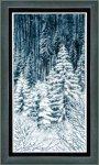 """Набор для вышивания """"Зимний лес"""""""