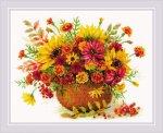"""Набор для вышивания """"Осенние цветы"""""""
