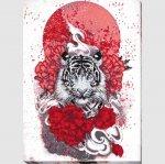 """Набор для вышивания """"Бай-ху (Белый тигр)"""""""