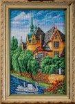 """Набор для вышивания """"Лебеди. Страсбург"""""""