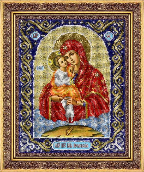 """Набор для вышивания Икона """"Пр.Богородица Почаевская"""""""