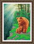 """Набор для вышивания """"Медвежья семейка"""""""