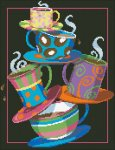 """Алмазная мозаика """"Кофе, чай!"""""""
