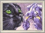 """Набор для вышивания """"Фиолетово-черный"""""""
