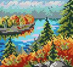 """Набор для вышивания """"Осенний лес"""""""